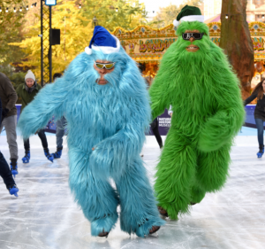 casting agency chris snode casting cast these yetis in the argos christmas advert